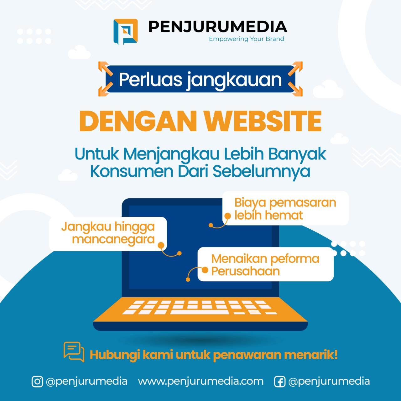 Menjangkau Lebih Banyak Klien dengan Website